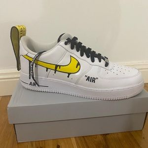 CHILDREN - Nike Offwhite Airforces